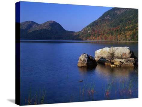 Usa, Maine, Acadia National Park, Jordon Pond-Jeff Foott-Stretched Canvas Print