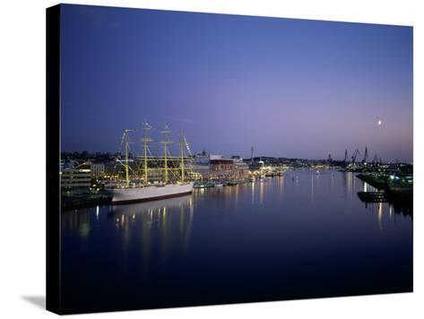 View of Gothenburg Harbour, Sweden--Stretched Canvas Print