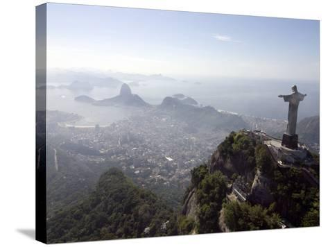 Aerial View of Rio De Janeiro from Sugarloaf Mountain--Stretched Canvas Print