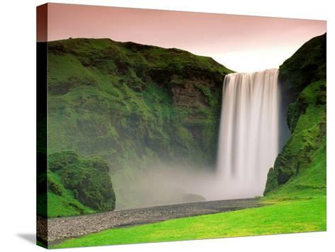 Skogafoss, South Iceland--Stretched Canvas Print