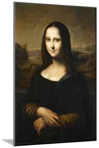 Copie de la Joconde de Leonard de Vinci-L?onard de Vinci-Mounted Giclee Print