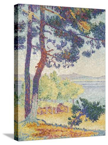 Après-midi à Pardigon (Var)-Henri Edmond Cross-Stretched Canvas Print