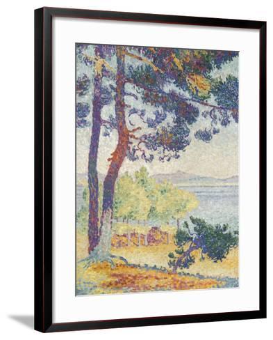 Après-midi à Pardigon (Var)-Henri Edmond Cross-Framed Art Print