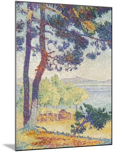 Après-midi à Pardigon (Var)-Henri Edmond Cross-Mounted Giclee Print