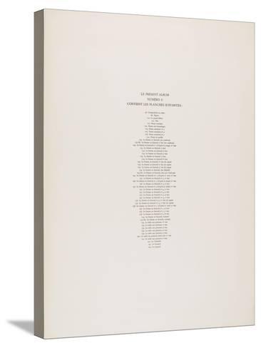 Album N 6 Page De Garde D Un Ensemble D états Imprimés Des