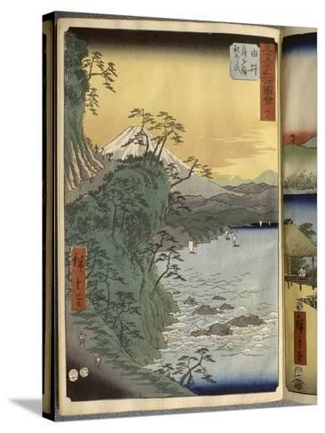 Album de la série des Cinquante-trois relais du Tôkaidô-Ando Hiroshige-Stretched Canvas Print