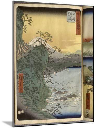 Album de la série des Cinquante-trois relais du Tôkaidô-Ando Hiroshige-Mounted Giclee Print