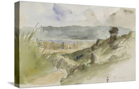 Album de voyage au Maroc, Espagne, Algérie-Eugene Delacroix-Stretched Canvas Print