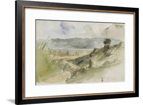 Album de voyage au Maroc, Espagne, Algérie-Eugene Delacroix-Framed Art Print
