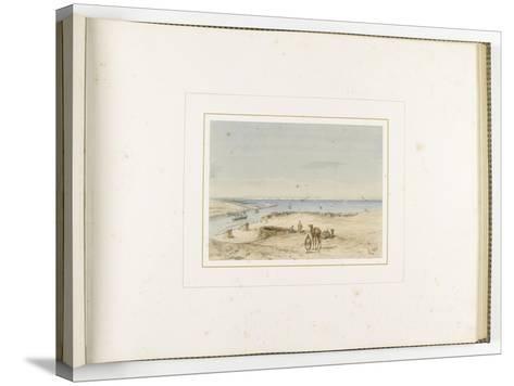 Album de l'isthme de Suez-?douard Riou-Stretched Canvas Print