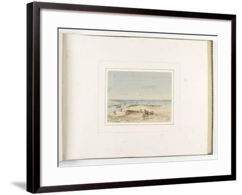 Album de l'isthme de Suez-?douard Riou-Framed Art Print