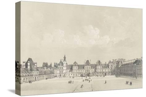 Album : Souvenirs de Fontainebleau-Philippe Benoist-Stretched Canvas Print
