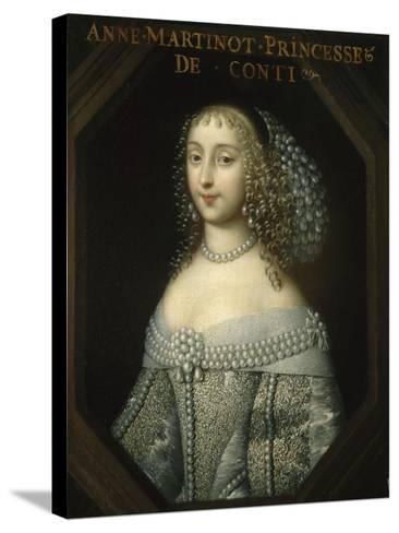 Anne-Marie Martinozzi, Princess of Conti (1637-1672)--Stretched Canvas Print
