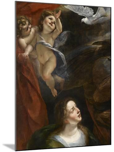 L'Annonciation-Giulio Cesare Procaccini-Mounted Giclee Print