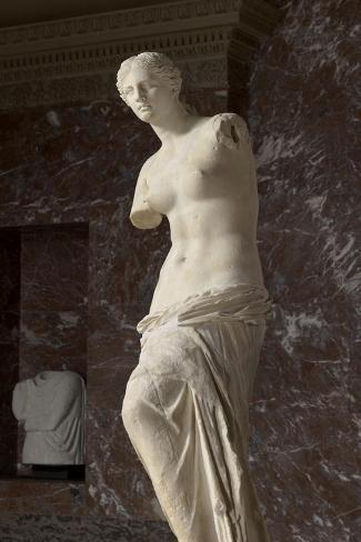 Aphrodite dite Vénus de Milo--Stretched Canvas Print