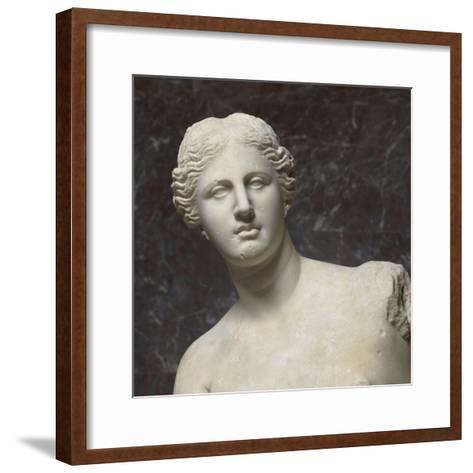 Aphrodite dite Vénus de Milo--Framed Art Print