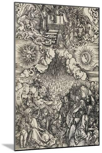 Apocalypse selon Saint Jean - L'ouverture des 5e et 6e sceaux-Albrecht D?rer-Mounted Giclee Print