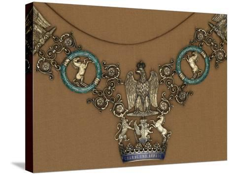 Collar of the Royal Order of the Crown of Westphalia--Stretched Canvas Print
