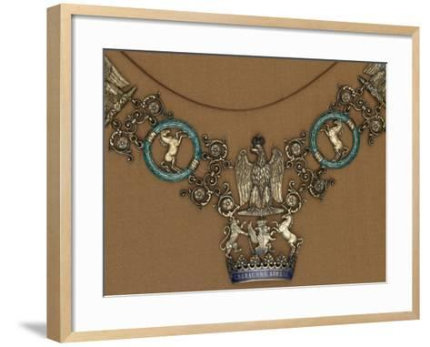 Collar of the Royal Order of the Crown of Westphalia--Framed Art Print