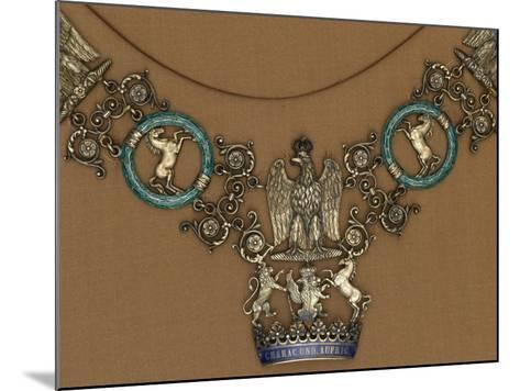 Collar of the Royal Order of the Crown of Westphalia--Mounted Giclee Print