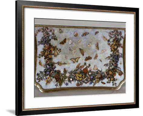 Table : L'Air-Giuseppe Zocchi-Framed Art Print