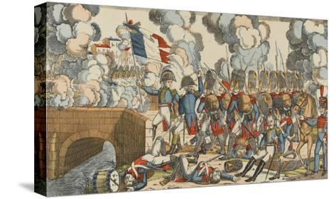 Passage du Pont d'Arcole--Stretched Canvas Print