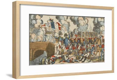 Passage du Pont d'Arcole--Framed Art Print