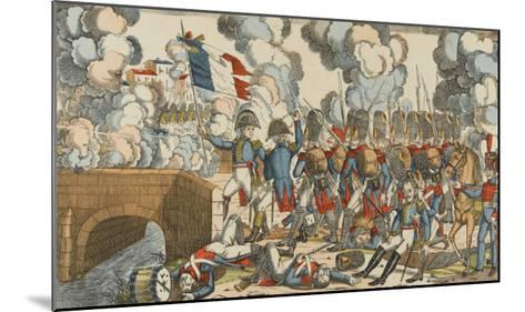 Passage du Pont d'Arcole--Mounted Giclee Print