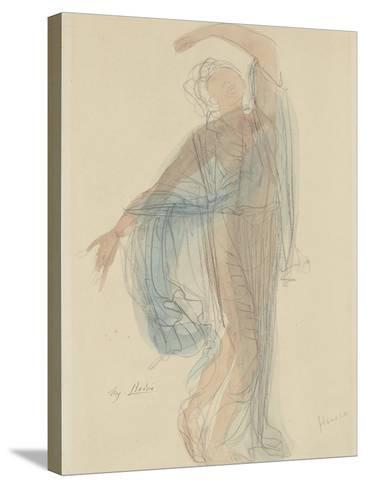 Danseuse-Auguste Rodin-Stretched Canvas Print