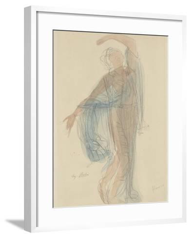 Danseuse-Auguste Rodin-Framed Art Print