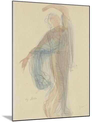 Danseuse-Auguste Rodin-Mounted Giclee Print