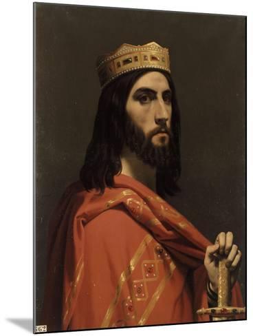 Dagobert Ier, roi d'Austrasie, de Neustrie et de Bourgogne, (mort en 638)-Emile Signol-Mounted Giclee Print
