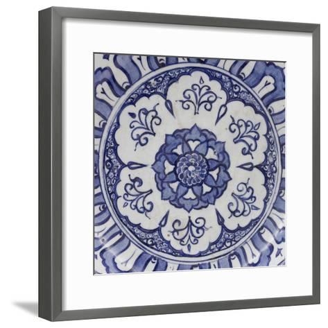 Coupe aux fleurons--Framed Art Print
