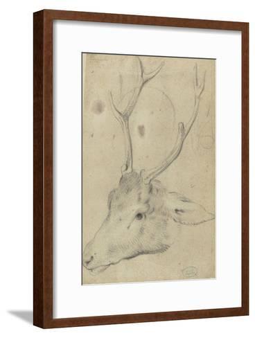 Tête de cerf--Framed Art Print