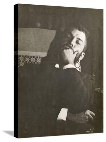 Monsieur Daniel Halévy (1872-1962)-Edgar Degas-Stretched Canvas Print