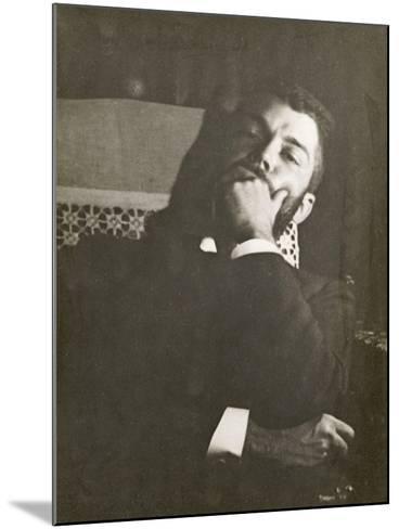 Monsieur Daniel Halévy (1872-1962)-Edgar Degas-Mounted Giclee Print