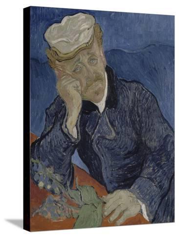 Le Docteur Paul Gachet (1828-1909)-Vincent van Gogh-Stretched Canvas Print
