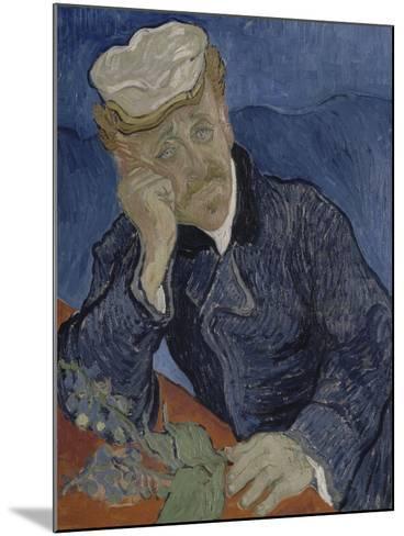 Le Docteur Paul Gachet (1828-1909)-Vincent van Gogh-Mounted Giclee Print