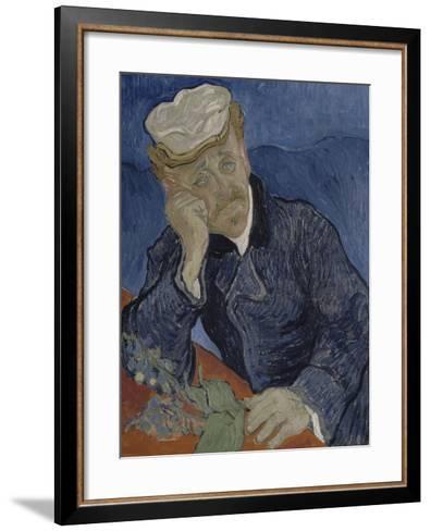 Le Docteur Paul Gachet (1828-1909)-Vincent van Gogh-Framed Art Print