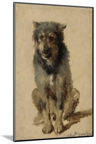 Chien-Rosa Bonheur-Mounted Giclee Print