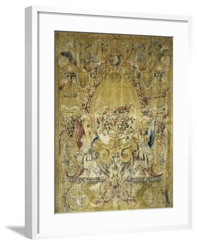 Panneau dit Portière de la Gondole du Roi--Framed Art Print
