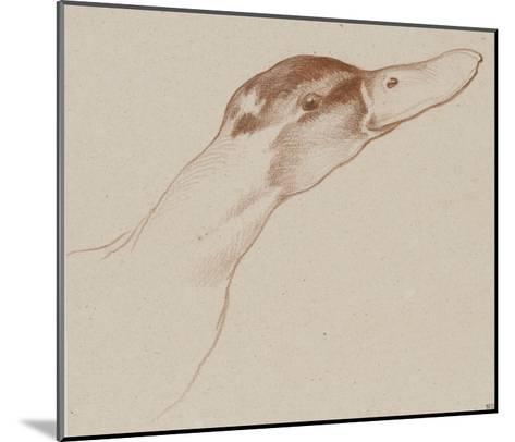 Tête de canard-Edme Bouchardon-Mounted Giclee Print