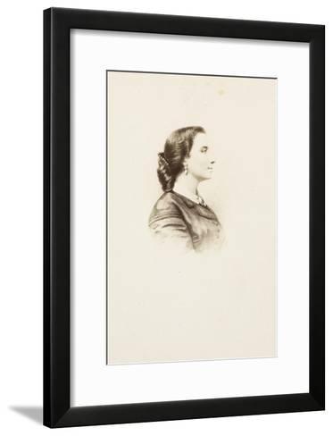 Laure Eiffel Collin, buste, de profil-Alexandre Ken-Framed Art Print