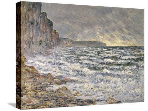Fécamp, bords de mer-Claude Monet-Stretched Canvas Print