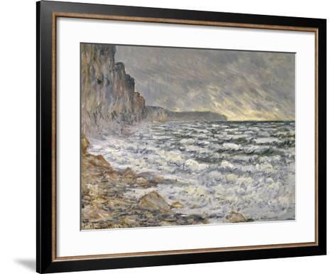 Fécamp, bords de mer-Claude Monet-Framed Art Print