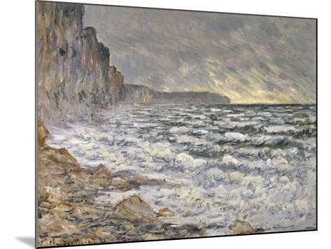 Fécamp, bords de mer-Claude Monet-Mounted Giclee Print
