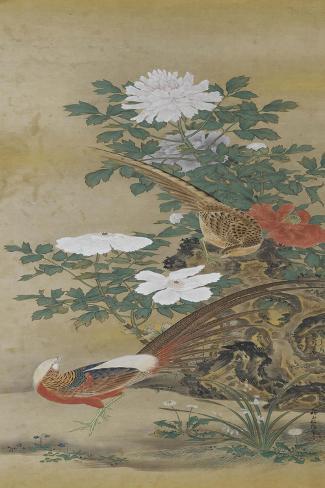 Salon du lac--Stretched Canvas Print