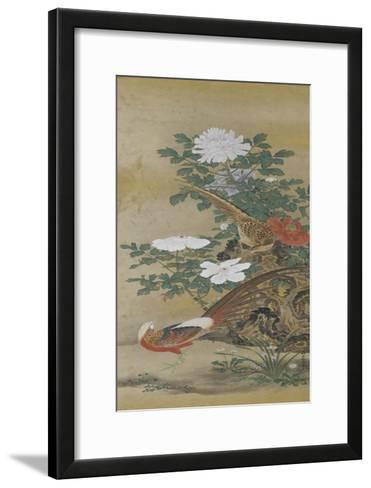 Salon du lac--Framed Art Print