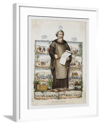 Le père Soubise--Framed Art Print