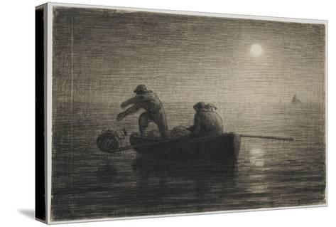 Les P�eurs-Jean-Fran?ois Millet-Stretched Canvas Print